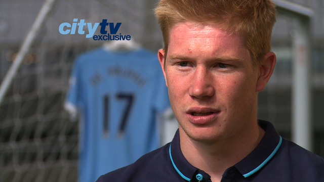 New Manchester City signing Kevin de Bruyne