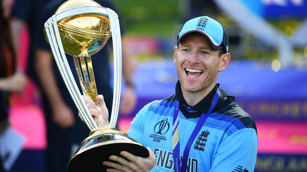 England win Cricket World Cup: Who is captain Eoin Morgan? - BBC News