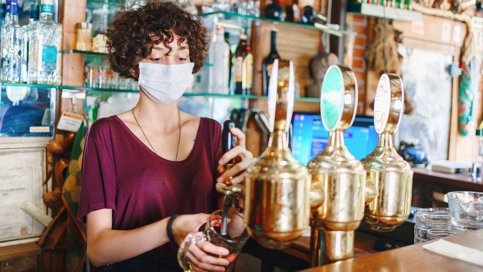 Pub worker