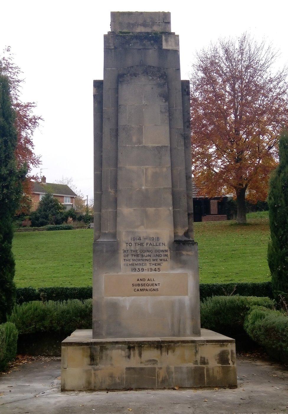 Stroud Cenotaph