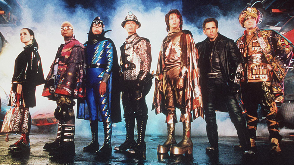 The cast of Mystery Men