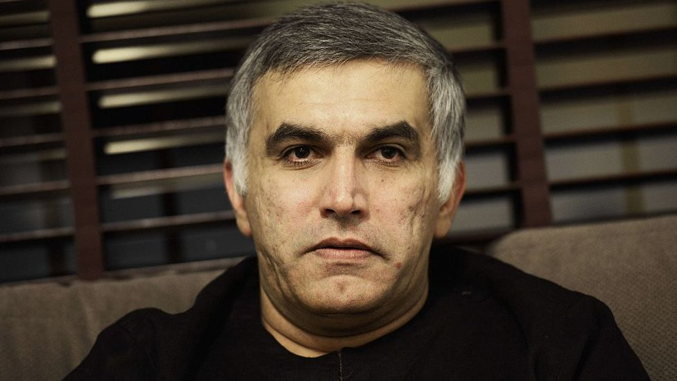 Nabeel Rajab is the president of the Bahrain Center for Human Rights