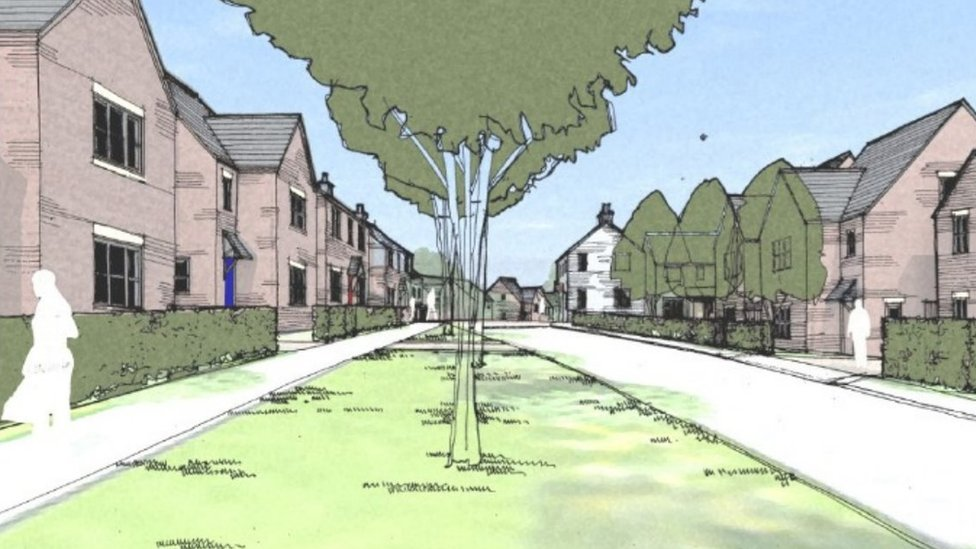 Support letters for new Felling homes 'fake'