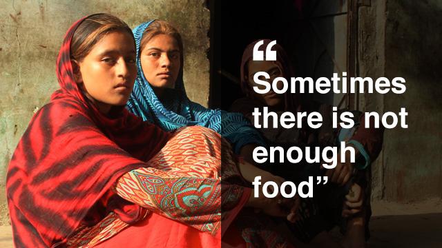 Farzana hopes to become a teacher