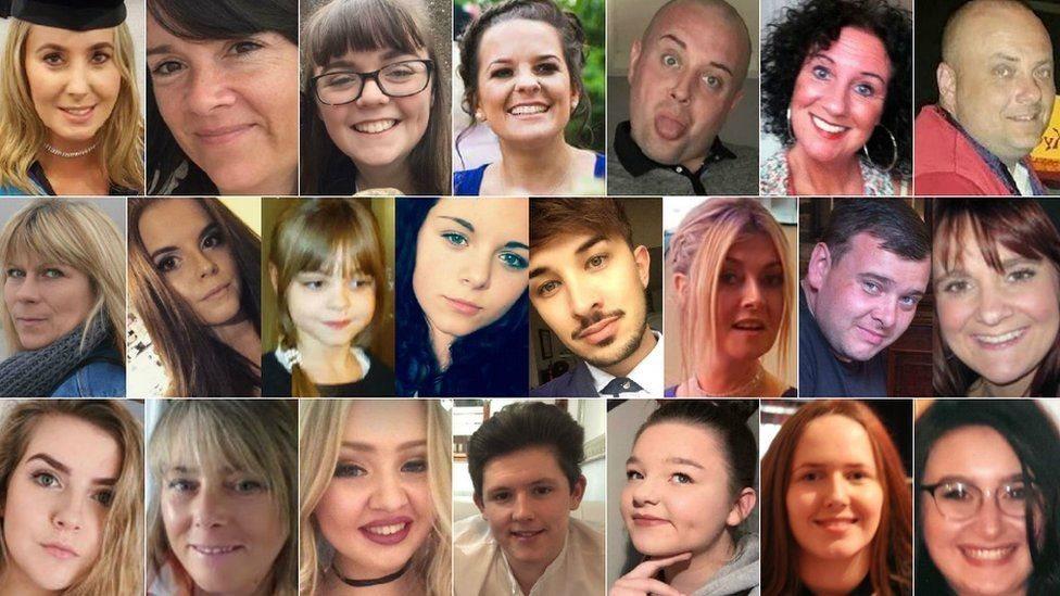 ضحايا هجوم مانشستر