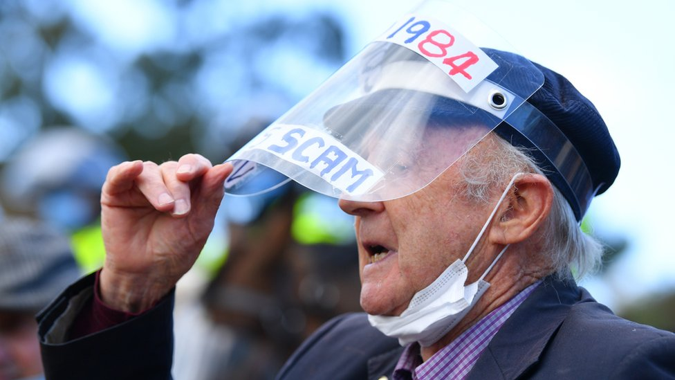 melbourne protester