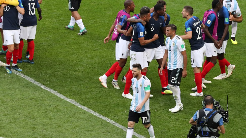 الأرجنتين وفرنسا