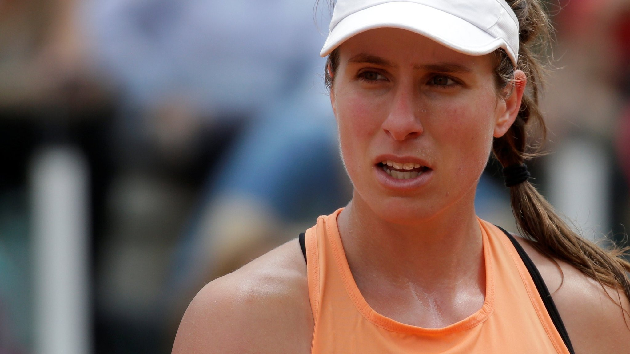 Italian Open: Johanna Konta loses to Jelena Ostapenko in Rome