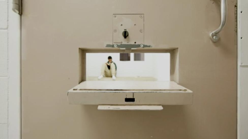 Una celda de confinamiento