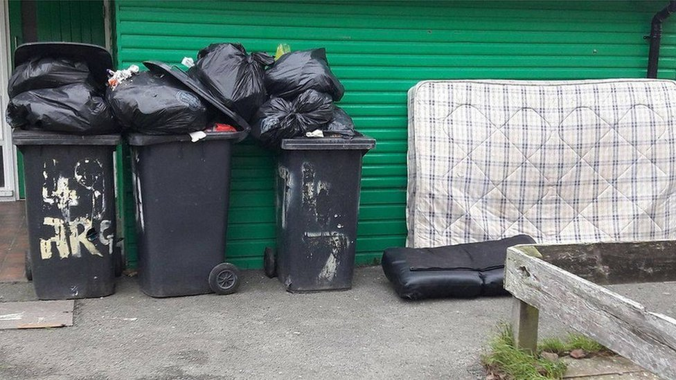 Monthly rubbish bin collection launched