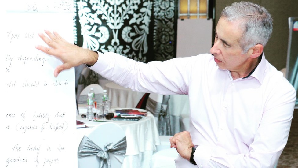 Brand consultant, Tony Franco