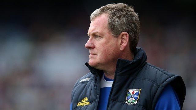 Cavan manager Terry Hyland