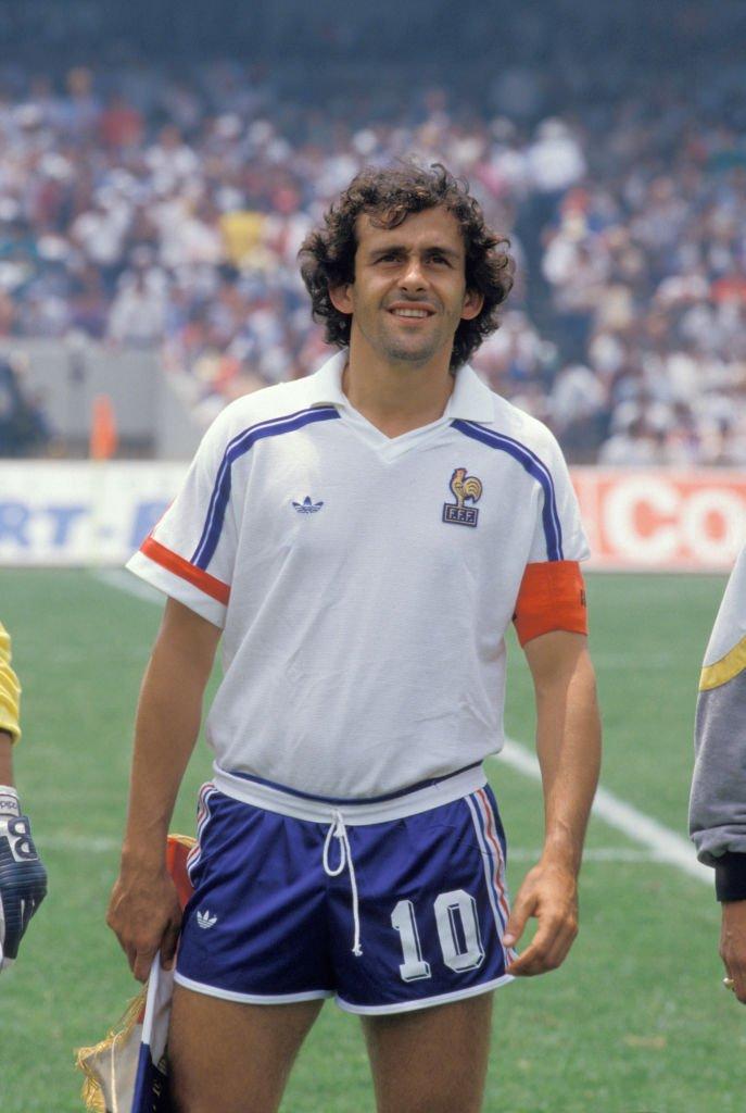 Michel Platini fue el capitán de Francia en México 86.