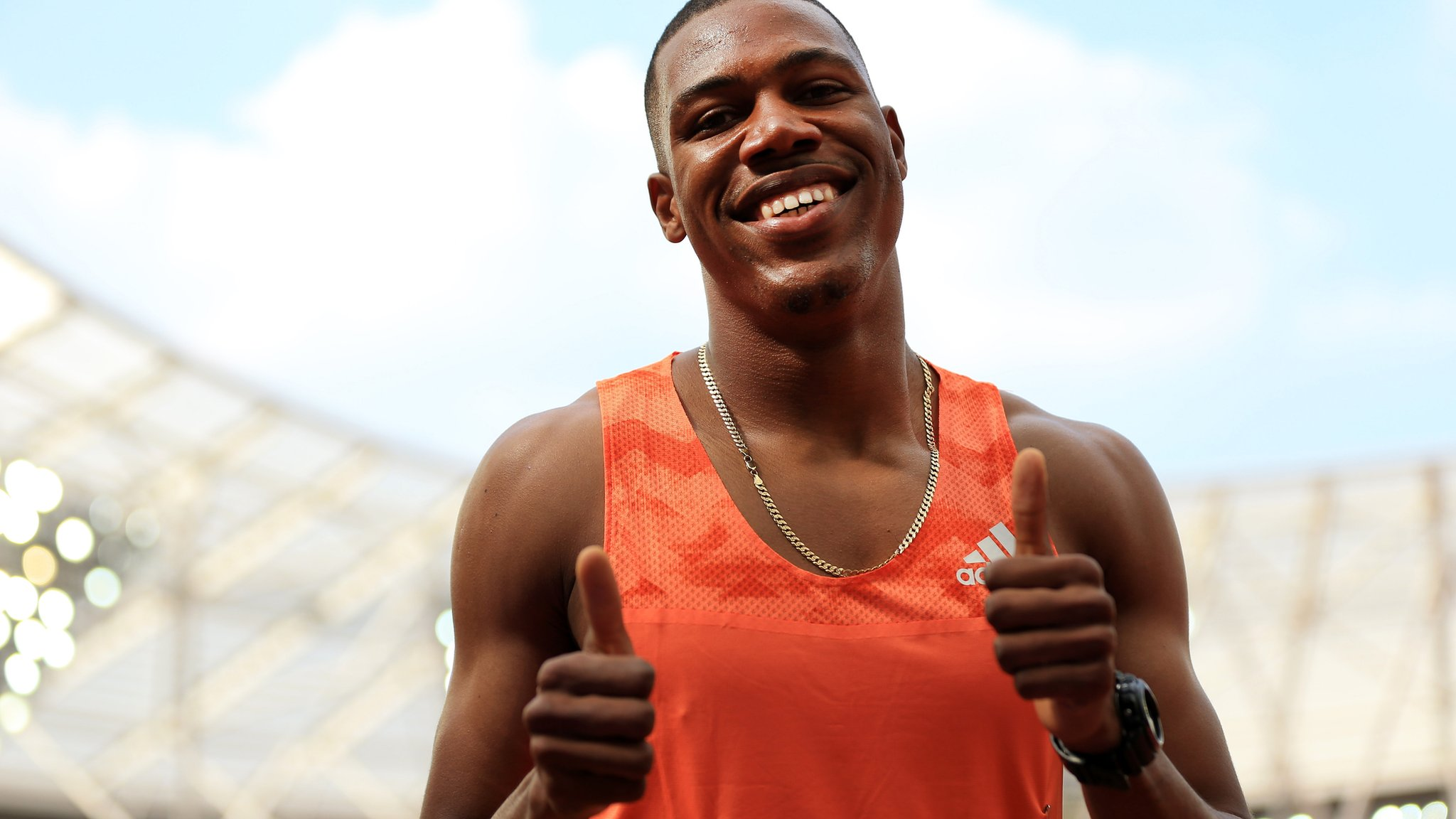 Anniversary Games 2018: Zharnel Hughes edged out at London Stadium