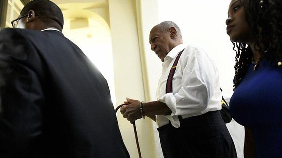 Bill Cosby jailed: 'We've got justice!'