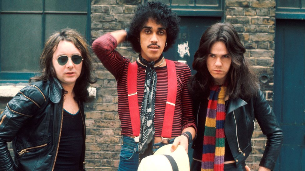 Thin Lizzy in 1974