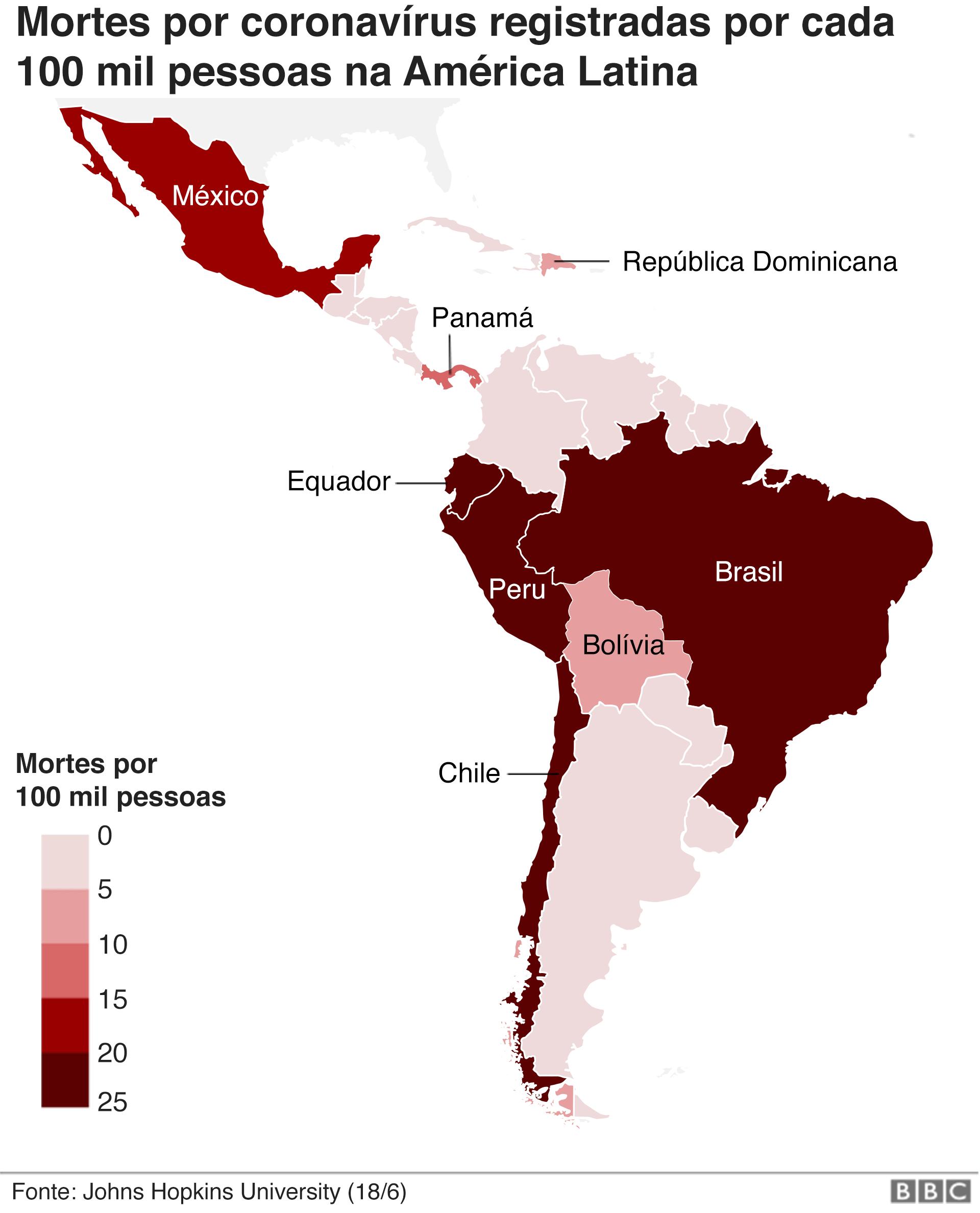 infográfico mostra areas mais afetadas