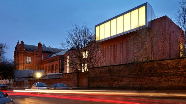 The Whitworth by night