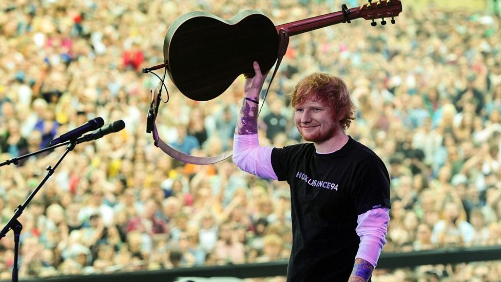 Ed Sheeran to play Ipswich Chantry Park gigs