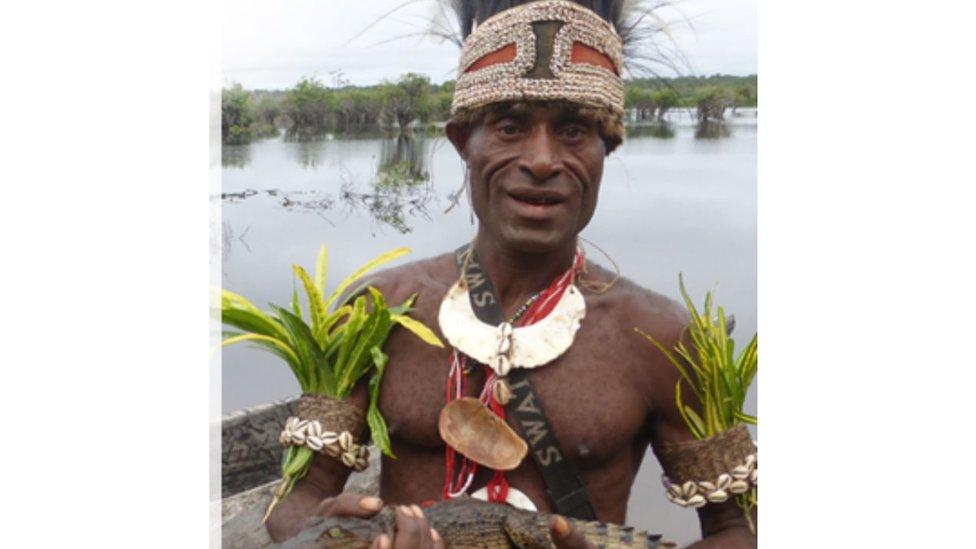 رجل من جزر المارشال
