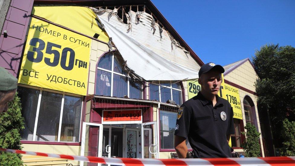 Пожар в одесской гостинице унес жизни девяти человек
