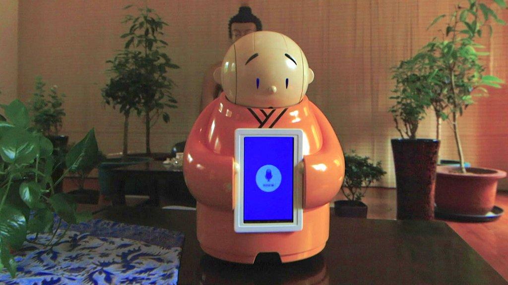 The robot monk