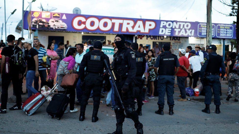 البرازيل أرسلت أعدادا إضافية من قوات الأمن لمواجهة الاضطرابات