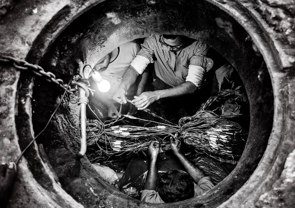 Technicians in Bangladesh