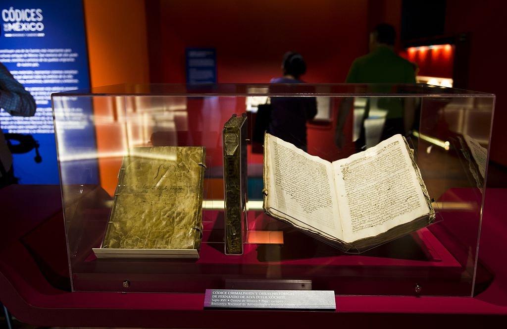 Un códice en el Museo Nacional de Antropología