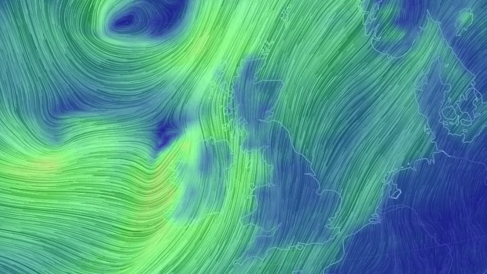 Storm Ali to hit Northern Ireland on Wednesday
