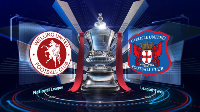 Highlights: Welling United 0-5 Carlisle United