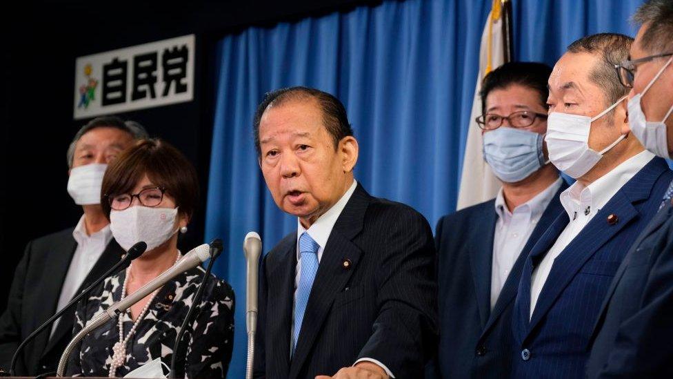 توشيهيرو نيكاي، أمين عام الحزب الديمقراطي الليبرالي