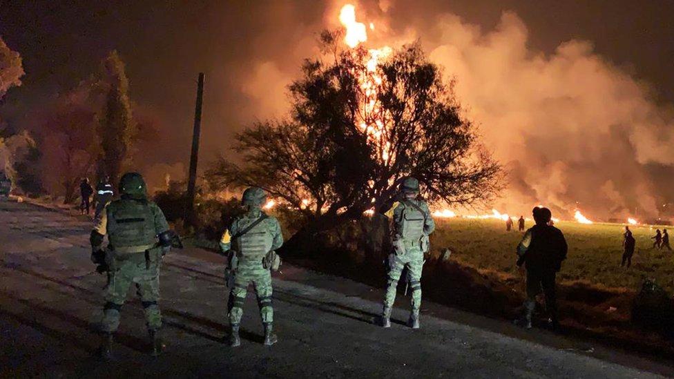 Mexico pipeline blast kills 21 and injures dozens