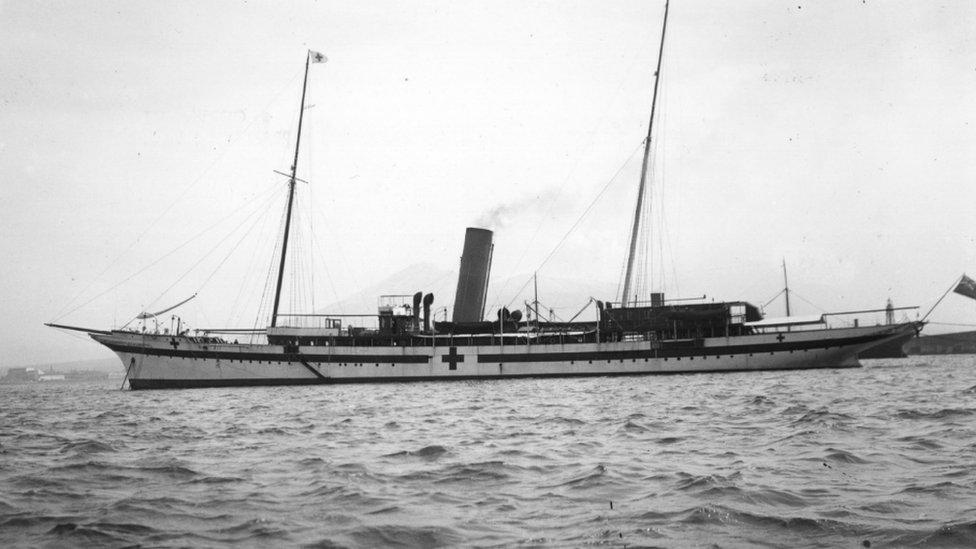 El velero Erin.
