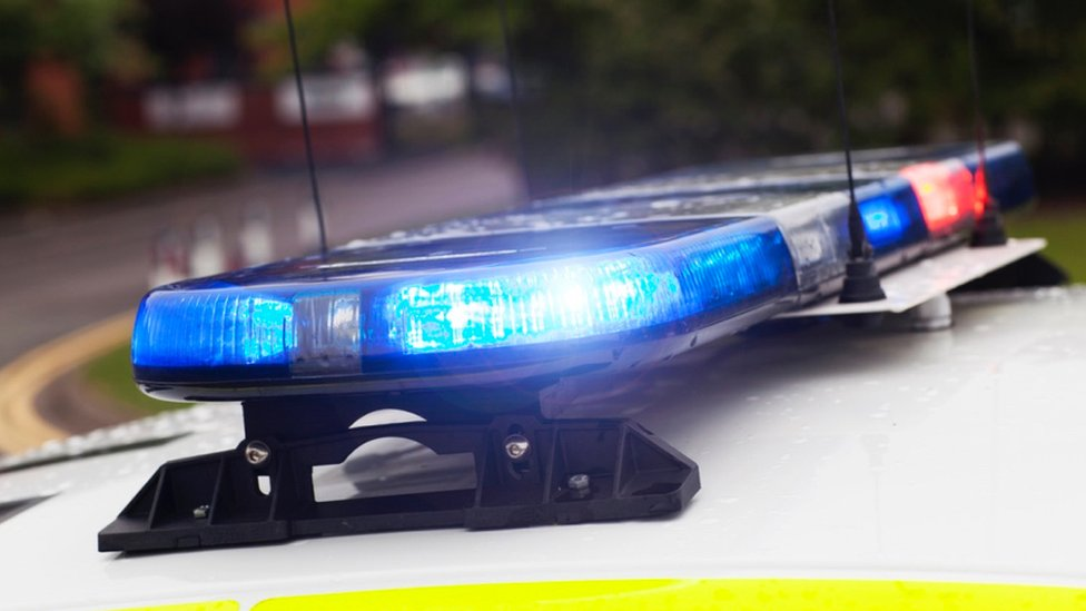 Staffordshire girl broke hand jumping from police car
