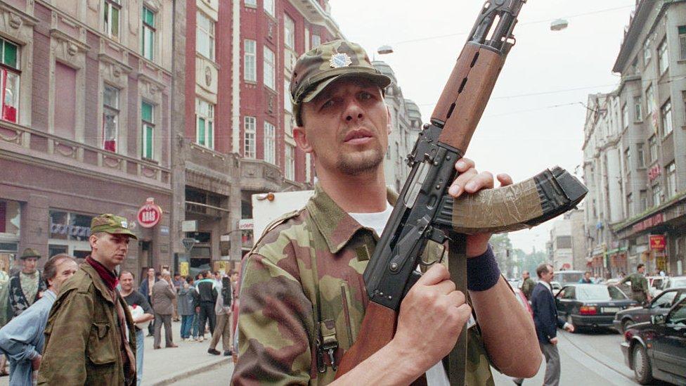 Soldado bosnio.