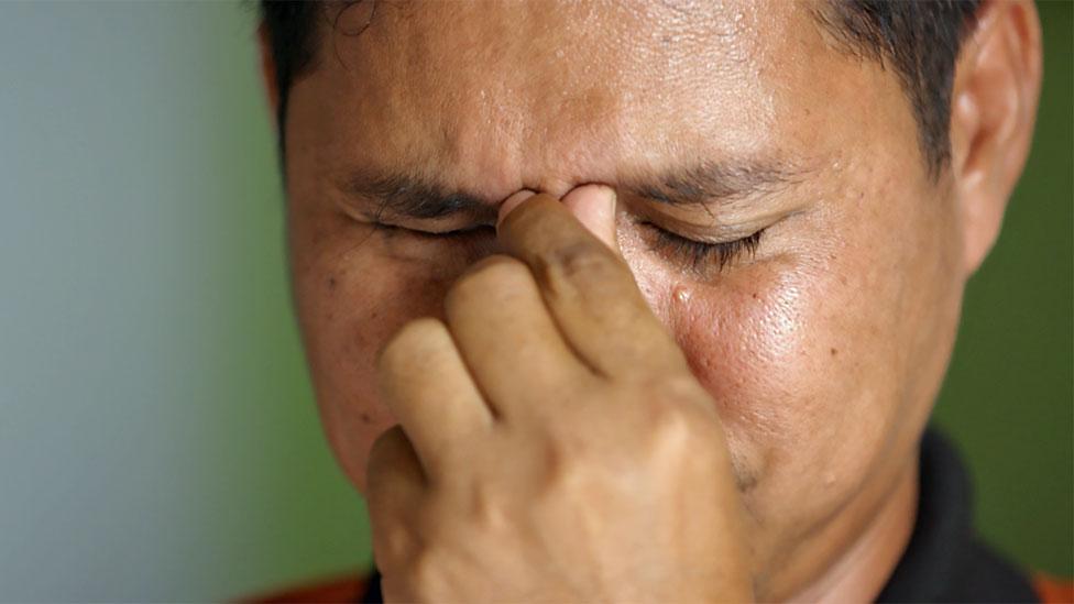 Iwan holds back tears