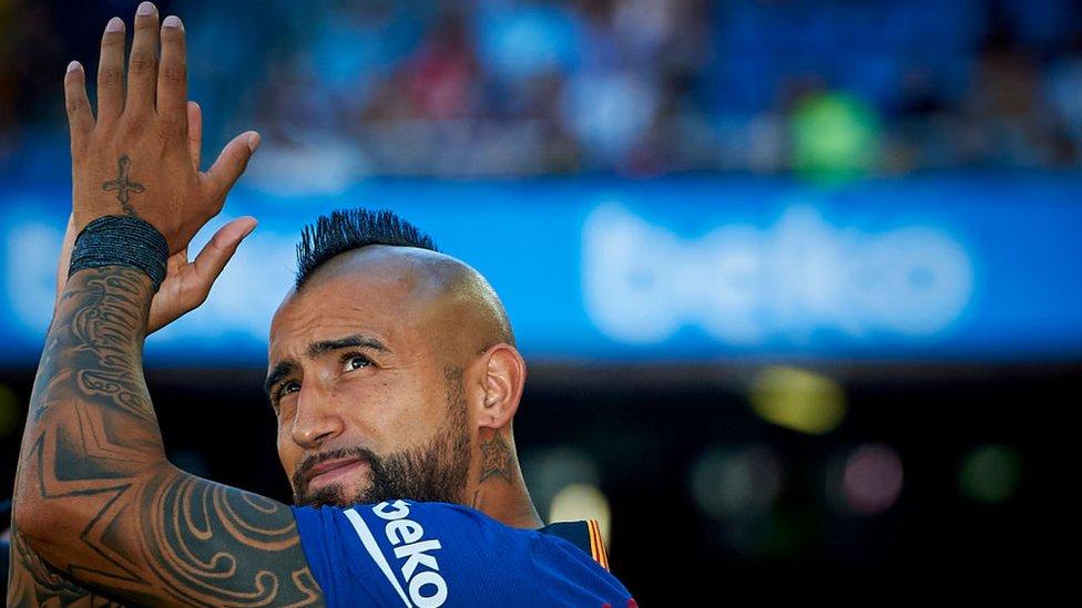 El chileno Vidal podría ser clave en la búsqueda del Barcelona de volver a conseguir la gloria europea.