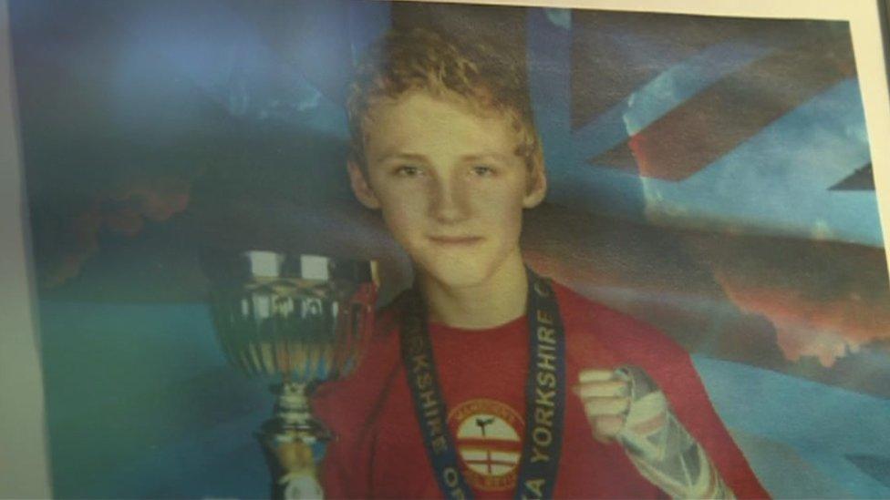 Teen kickboxer Scott Marsden's death 'tragic fluke'