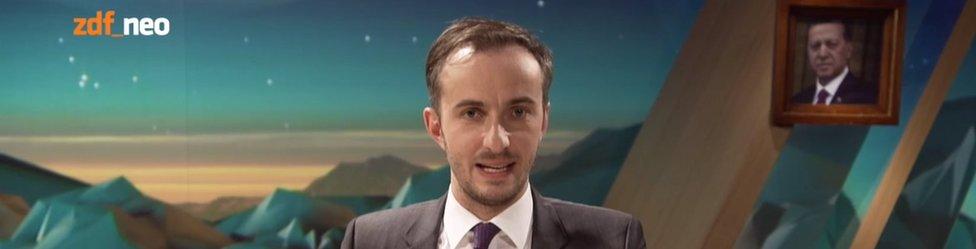 Jan Boehmermann presenting on 31 March (ZDF)