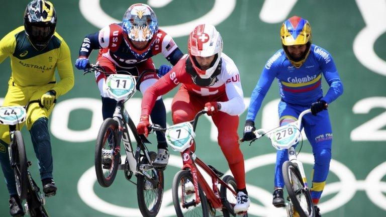 Final de BMX