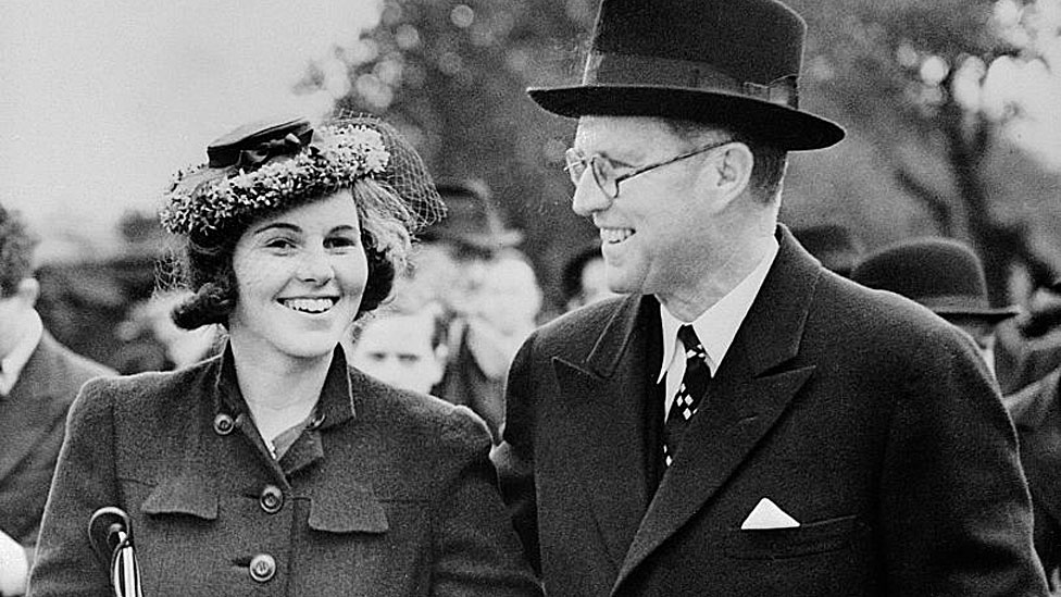 Rosemary Kennedy con su padre
