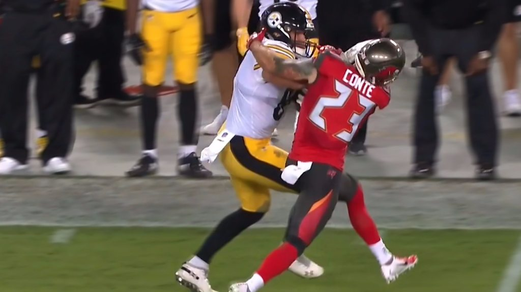 NFL: Vance McDonald scores 75-yard touchdown for Pittsburgh Steelers