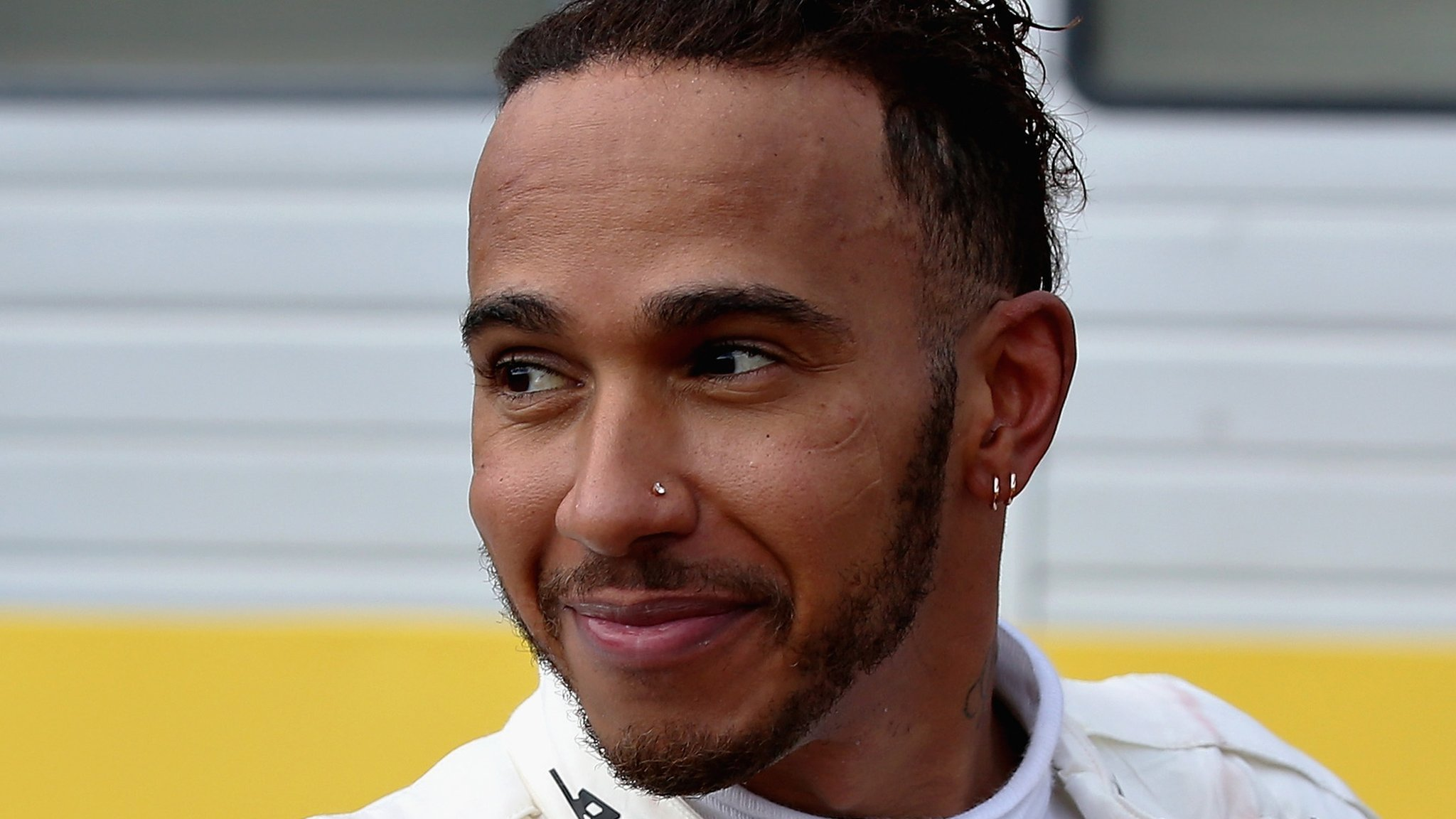 Lewis Hamilton is once again benefitting from Sebastian Vettel marginal errors