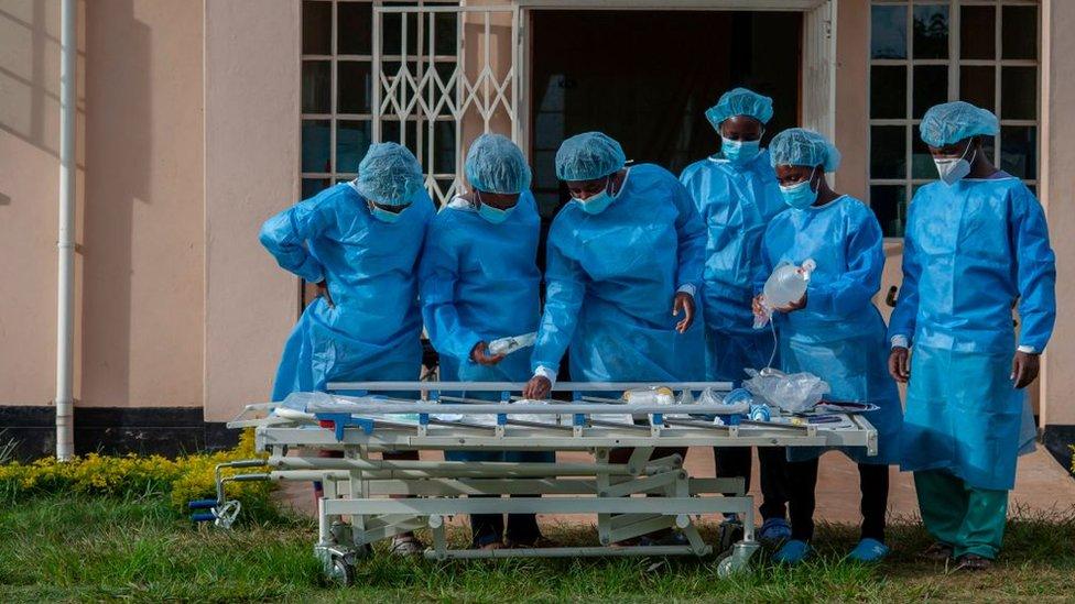 مستشفى في مدينة ليلونغوي في ملاوي