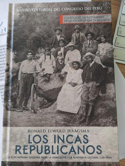 """Portada del libro """"Los incas republicanos"""""""