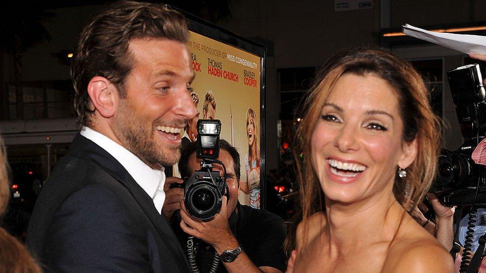 Sandra Bullock e Bradley Cooper