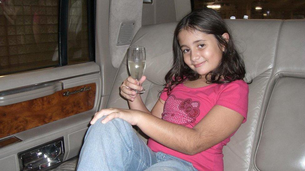 Fabiana en una foto en Orlando