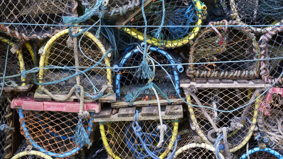 Cornwall crab pots 'deliberately' damaged by French trawlers
