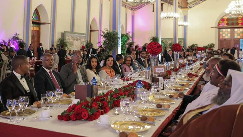 Ahmed Abiy hosts glitzy fundraising dinner for the elite